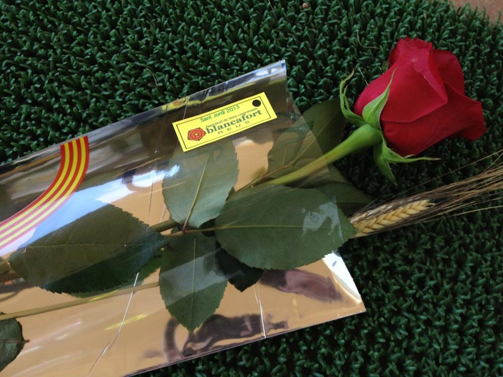 Diada de Sant Jordi a Blancafort