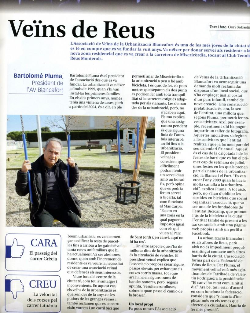 Entrevista a NW La Revista de Reus