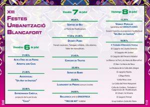 FESTES BLANCAFORT DE REUS 2018