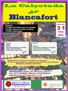 LA CALÇOTADA DE BLANCAFORT